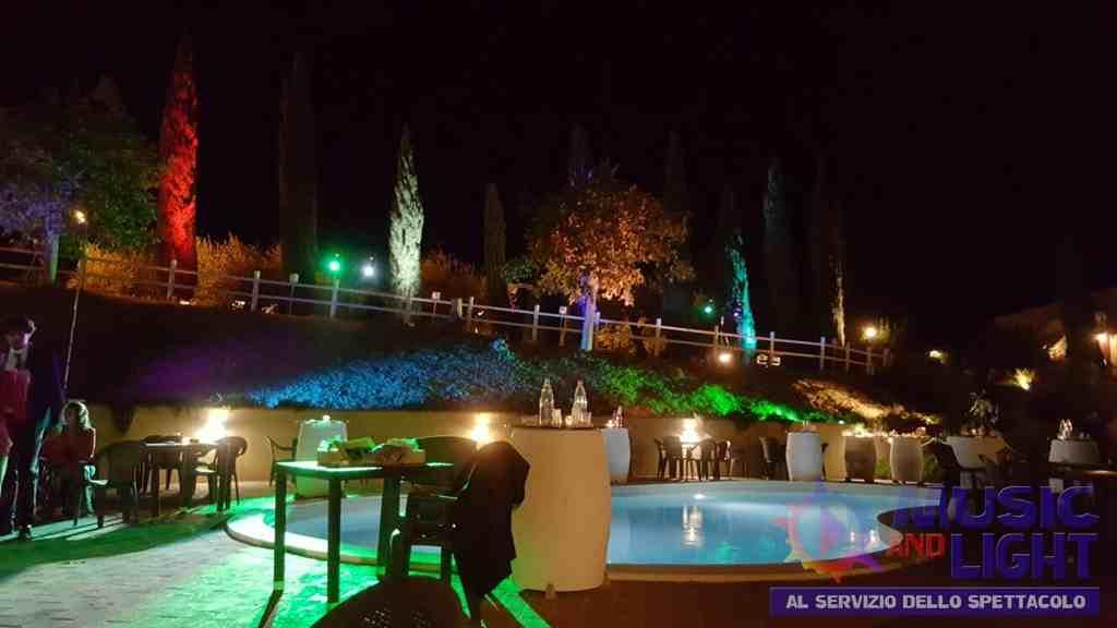 Matrimoni wedding in piscina luci e atmosfera fashion - Luci per piscina ...